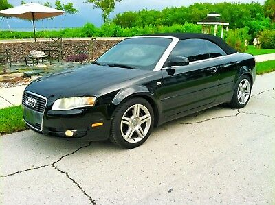 2007 Audi A4 Cabriolet Convertible 2-Door 2007 AUDI A4 2D AW COVERTABLE  *** TESTED GOOD ***