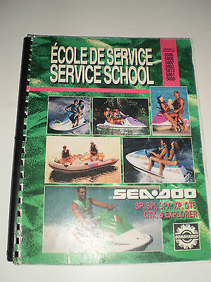 Seadoo Service School  Manual Sp Spi Spx Xp Gts Gtx Explorer