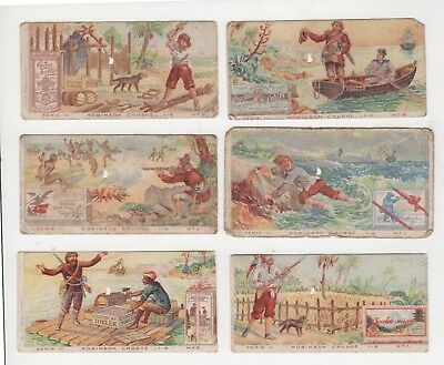 Chocolate Trade Cards Robinson Crusoe 1900