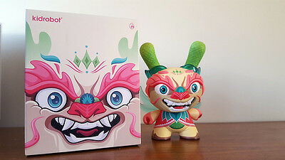 """KIDROBOT Imperial Lotus Dragon 8"""" Dunny by Scott Tolleson"""