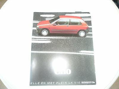 catalogue commercial RENAULT CLIO 1991