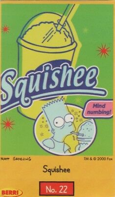 Berri Australia - The Simpsons card 2000 #22