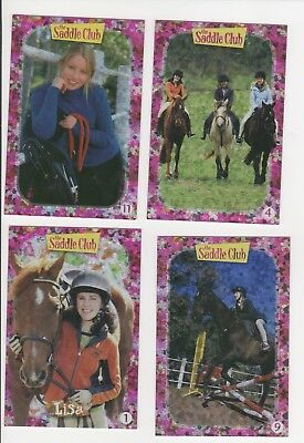 Crawford ProductionsThe Saddle Club Cards