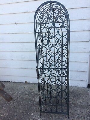 Wine Rack Wrought iron (Brisbane)