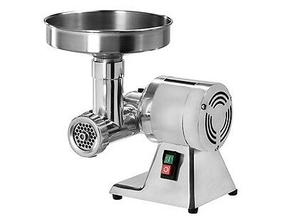 Mincing machine meat grinder 50kg per hour blade cut 6mm - 370Watt (£266.67+VAT)