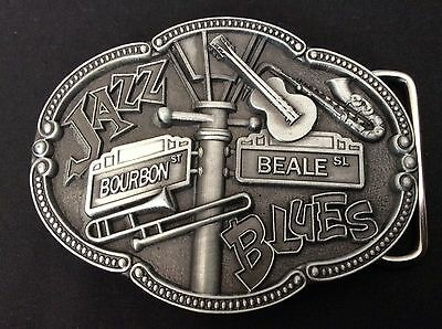 New Jazz Music Belt Buckle