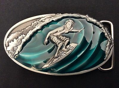 New Surfing Tube Belt Buckle