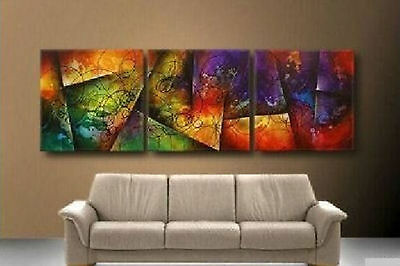 ZWPT39  3pcs abstract modern 100% hand-painted oil painting decor art on Canvas