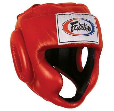 NEW Fairtex HG3 Boxing Headgear - Head Guard Sparring Gear MMA BEWARE OF FAKES