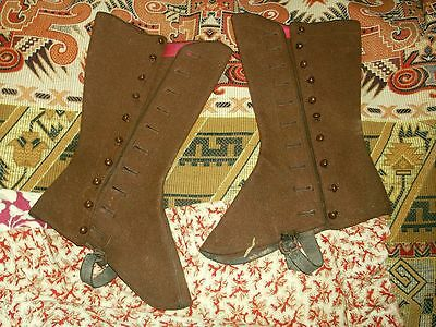 Antique Spats for Small Adult or Child
