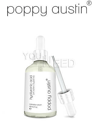Poppy Austin Siero All'acido Ialuronico per la Pelle 60 ml Puro al 100%