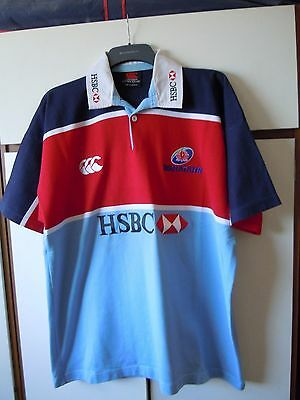 Red/blue New South Wales Waratahs rugby shirt XL