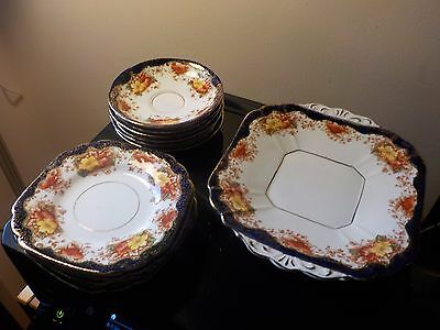 Crown Bone china misc plates