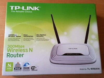 ROUTER INALAMBRICO ( WIFI ) TP-LINK WR841N SWITCH 4 puertos