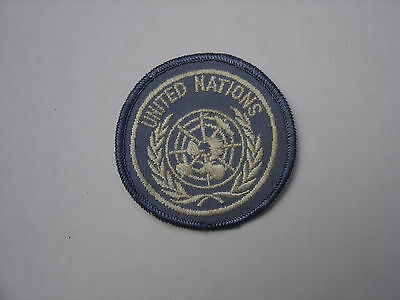 patch UNITED NATIONS UNITES FRANCAISE