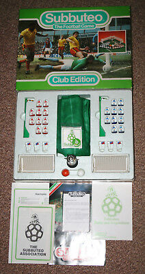 Vintage Subbuteo Club Edition 1986 Boxed Complete Table Football
