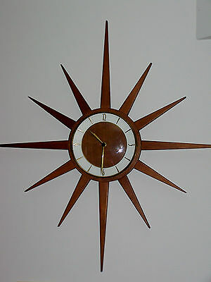 Rare Junghans New Nos Movements For Starburst Sunburst Star Sun Burst Wall Clock