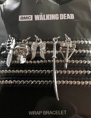 AMC Walking Dead Wrap Bracelet Officially Licensed Love & Madness
