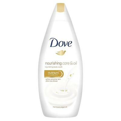 ** Dove Nourishing Care & Oil Body Wash 250Ml New ** Moroccan Argan Oil