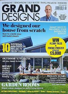 Grand Designs Magazine August 2017 VGC