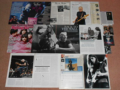 15+ PINK FLOYD Magazine Clippings