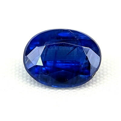 TOP ROYAL BLUE KYANITE : 1,90 Ct Natürlicher Blau kyanit / Disthene , Rhaeticite