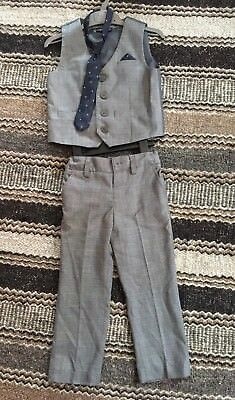 Boys Grey Next Suit Age 2-3