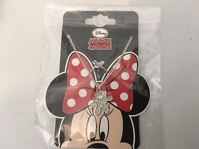Disneys Minnie Mouse Necklace & Ring Set BNIP