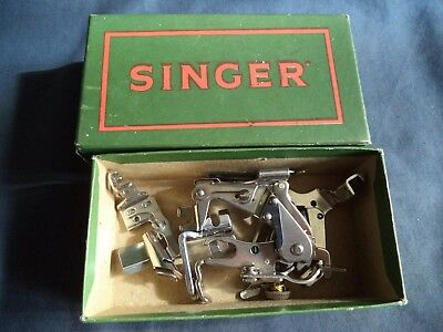 Vintage Singer Sewing Machine-Singer Box Of Accessories/feet