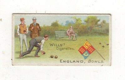 Sports of all Nations 1901 - England: Lawn Bowls