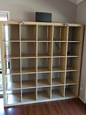 ikea expedit kallax shelving unit 4x4 aud picclick au. Black Bedroom Furniture Sets. Home Design Ideas