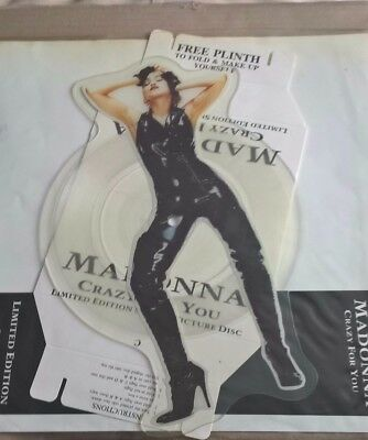 Madonna   Crazy Like You Shaped Picture Disc