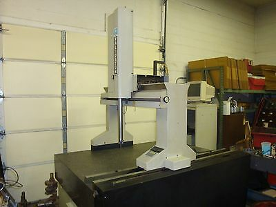 "Brown & Sharpe Validator CMM Machine ~ w/ 73"" x 53"" x 12 1/2"" Plate & Tooling"