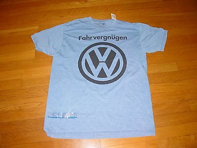VW Official Licensed VOLKSWAGON   FAHRVERGNUGEN  T-Shirt NEW   XXLarge  XXL  2XL
