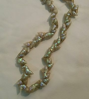 Old Maireener Shells Necklace re-strung.