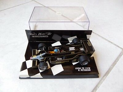 Lotus Ford 79 Ronnie Peterson #6 Minichamps 1/43 1978 F1 Formule 1