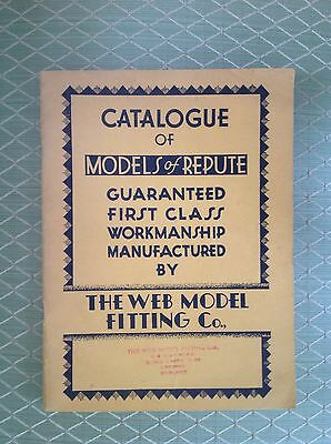 The Web Model Fitting Co. Catalogue Of Models Of Repute, Model Ship Building