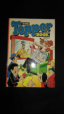 The Topper 1984 Vintage Annual Comic Hardback Book