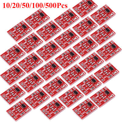 10/20/50/100/500Pcs TTP223 Touch Key Module Capacitive Settable Switch Board