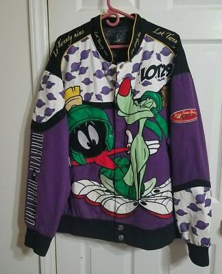 Lot 29 Looney Tunes Acme Team Racing Jacket Marvin the Martian Mens 4XL HEAVY