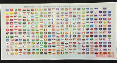 Worldwide 295 different Countries Reigons National Flag US 50 States Collection