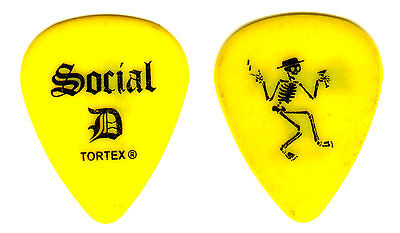 Guitar Pick - Social Distortion - Mike Ness - Real 2012 Tour Pick
