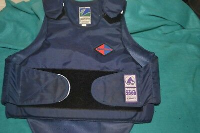 Body Protector Level 3 Size 2 Navy By Horse Works Used Good Useable Bodyprotecto