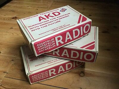 AKD Amateur Radio Package 70cm 2mtr and 4mtr radios