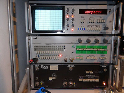 Spektrum Analyser  von Macroni Instuments LTD  TF 2370   110 MHZ