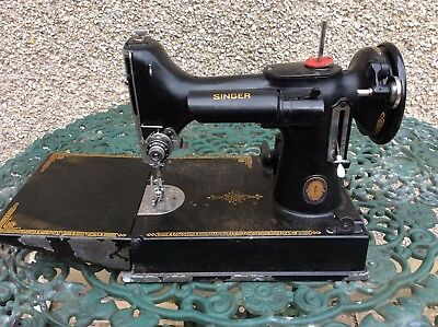 Vintage Singer 221K Centenary Sewing Machine-Spares Only Machine