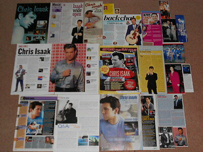 20+ CHRIS ISAAK Magazine Clippings