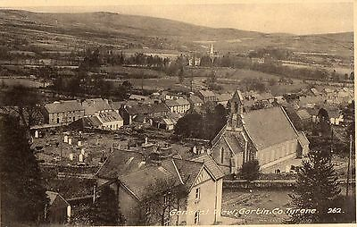 GENERAL VIEW GORTIN CO TYRONE IRELAND POSTCARD No. 262 by BUTLER of CARNDONAGH