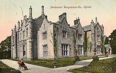PARKANAUR DUNGANNON CO. TYRONE IRELAND LAWRENCE POSTCARD for RICHARDSON & SONS