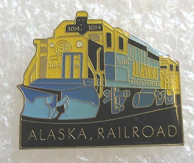 Alaska Railroad Tourist Travel Souvenir Collector Pin